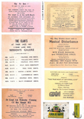 70's Dance Flyer Stickers